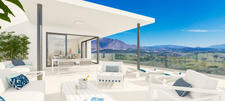 Top 3 nieuwbouw projecten Casares - Las Terrazas de Cortesin