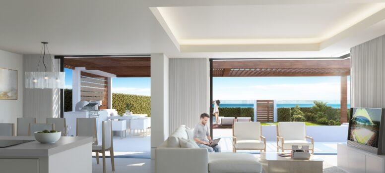 Te koop Marbella met zeezicht