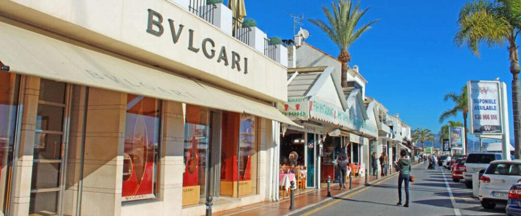 Puerto Banus shops