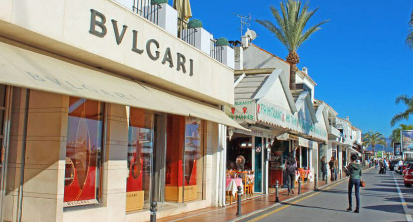 Puerto Banus shops 1