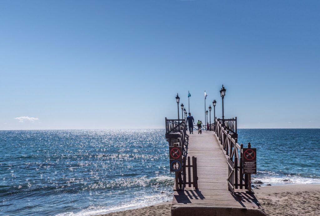 beach blue coast dawn 274127