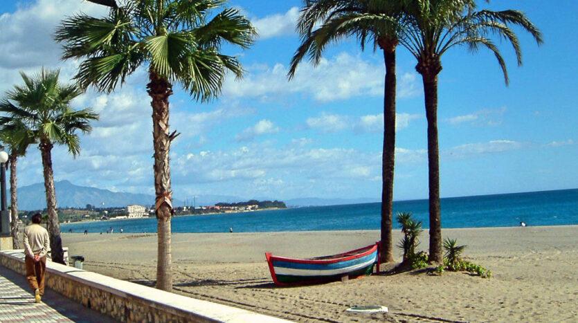 estepona Playa de la Rada Estepona beach long 1