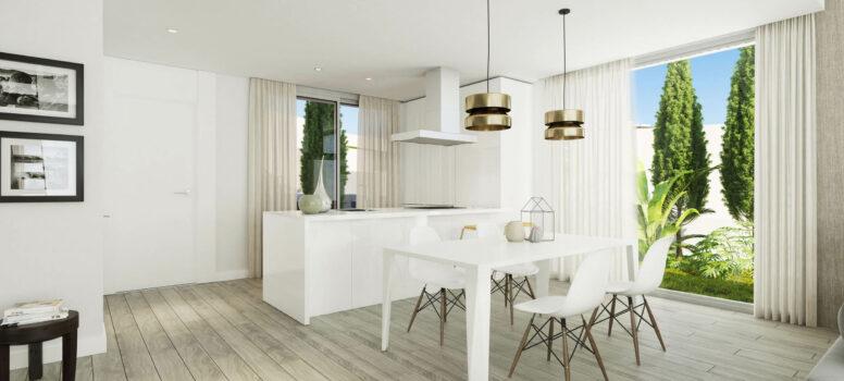Oceana View Interior adosado cocina