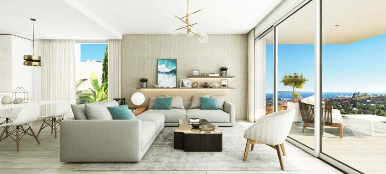 Oceana View Interior adosado salon