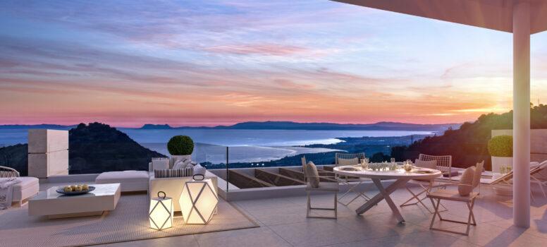 maison de vacances de luxe en Espagne