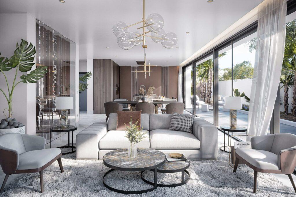 BANUS LAZULI INVESTINSPAIN 34 Living min - Nieuwbouwprojecten Marbella