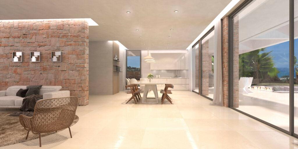 Dining Room Elviria INVESTINSPAIN - nieuwbouwprojecten Marbella