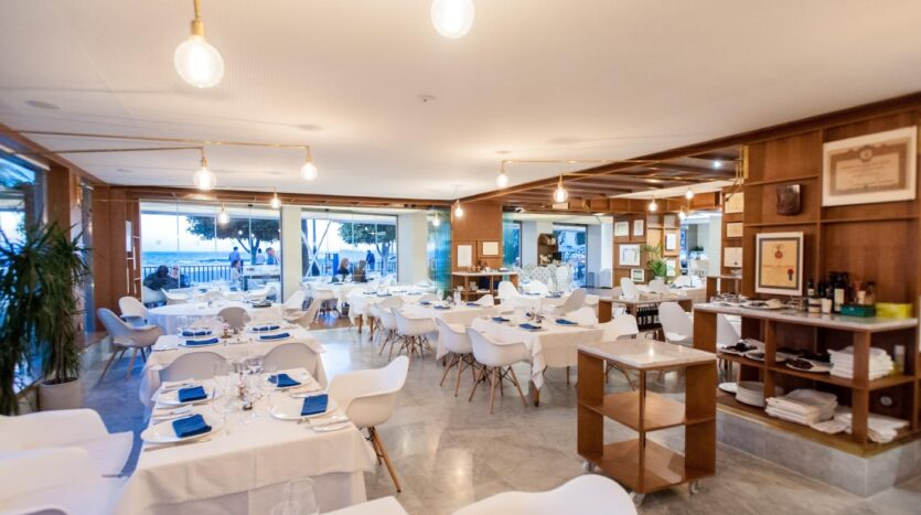 Restaurant Santiago wijnmuseum Marbella