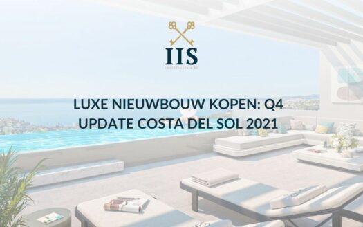 Luxe Nieuwbouw kopen Q4 Update Costa del Sol 2021
