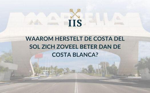 Waarom herstelt de Costa del Sol zich zoveel beter dan de Costa Blanca