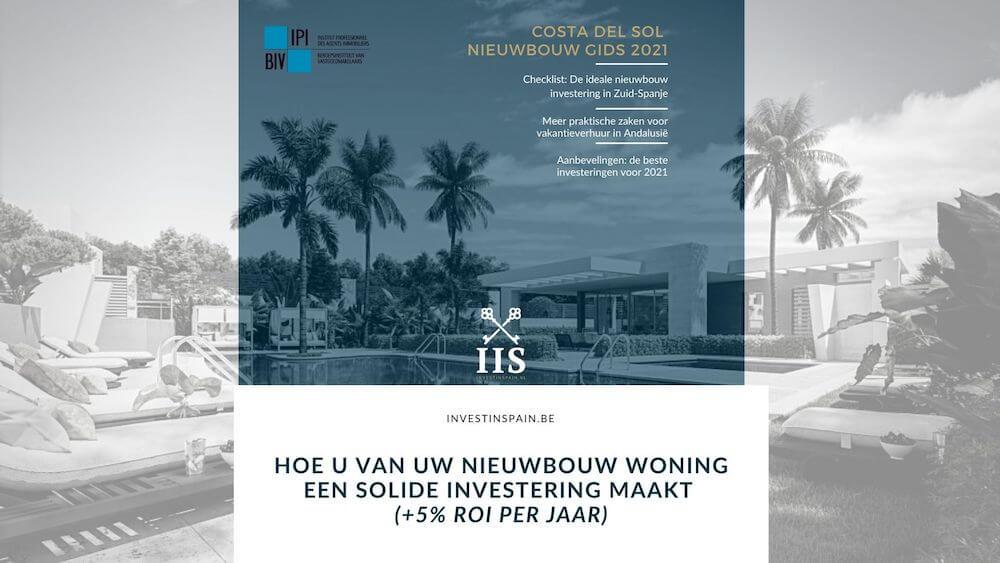 costa del sol Nieuwbouw investering checklist 2021